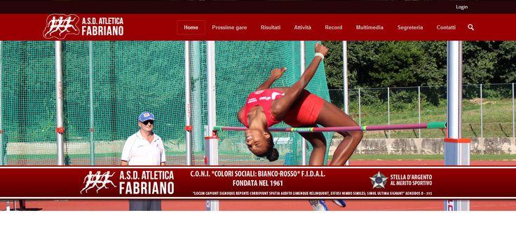 Portale della società Atletica Fabriano