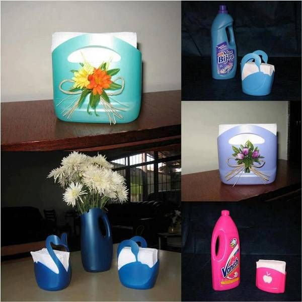 Reuse Before You Recycle – Ideas On How to Reuse Plastic Recipients - Find Fun Art Projects to Do at Home and Arts and Crafts Ideas