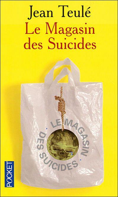 Le magasin des suicides - Jean Teulé http://www.parisladouce.com/2012/04/lundi-librairie-le-magasin-des-suicides.html