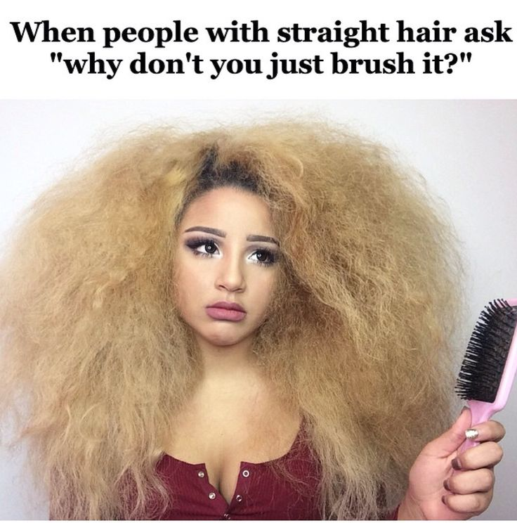 Natural curly hair ♡ so true though. It kills me when people are just like brush your hair and i'm like do you really want me to look like a lion