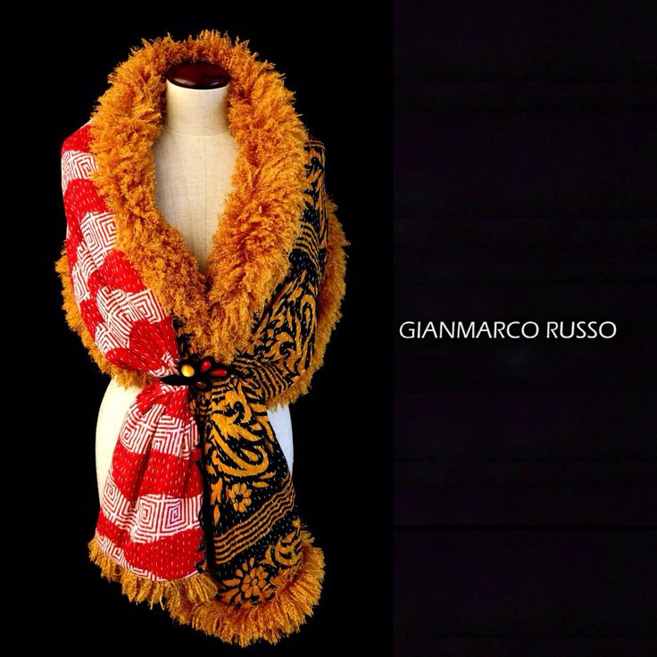 Gianmarco Russo - stola gioiello - limited edition  - Made in italy
