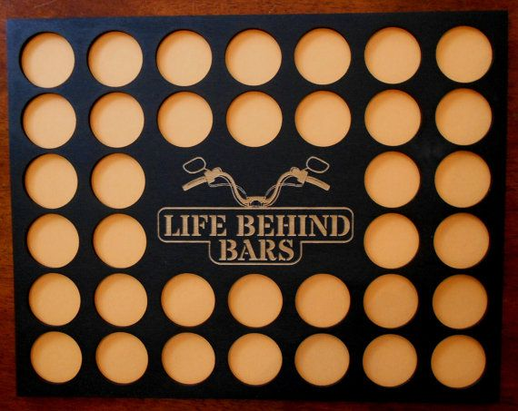 Custom Poker Chip Frame Display Insert Life by CarvedByHeart