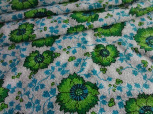 Frottee Stoff 70er Jahre Panton Eames Era Badezimmer Bad Handtücher  Prilblume | EBay