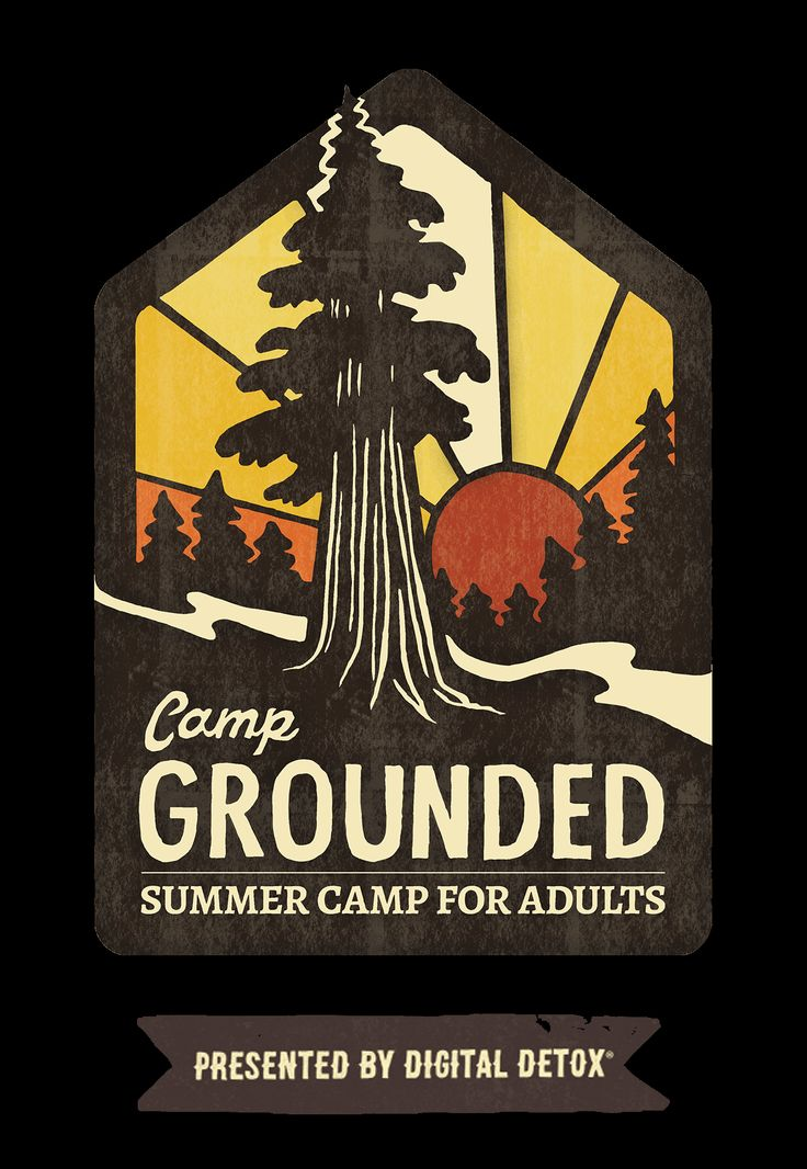 Camp Grounded - Summer Camp for Adults - Digital Detox, NC, Last weekend in August, about $475