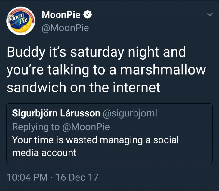 Never mess with a social media manager