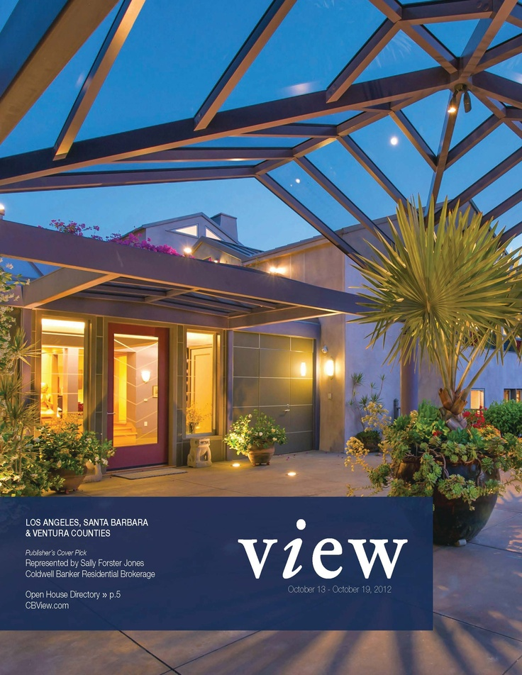 One of California's Leading Real Estate Magazines. View it online now.