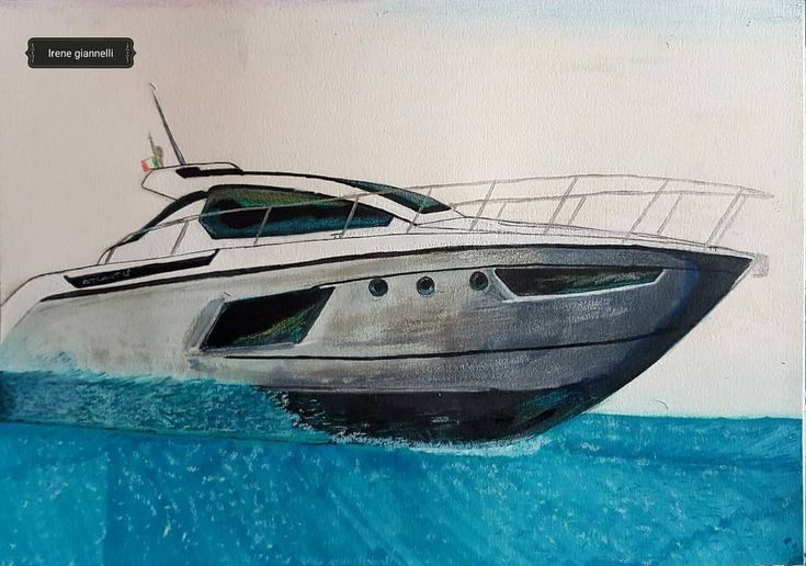 Here he is the Azimut Atlantis 38ft I'd love to have one of these magnificent yachtes  @azimut_yachts #yacht #luxury #yachtes #boat #boats #see #surf #blue #sky #life #free #amazing #drawing #sketch #sketching #carandache @caran_dache