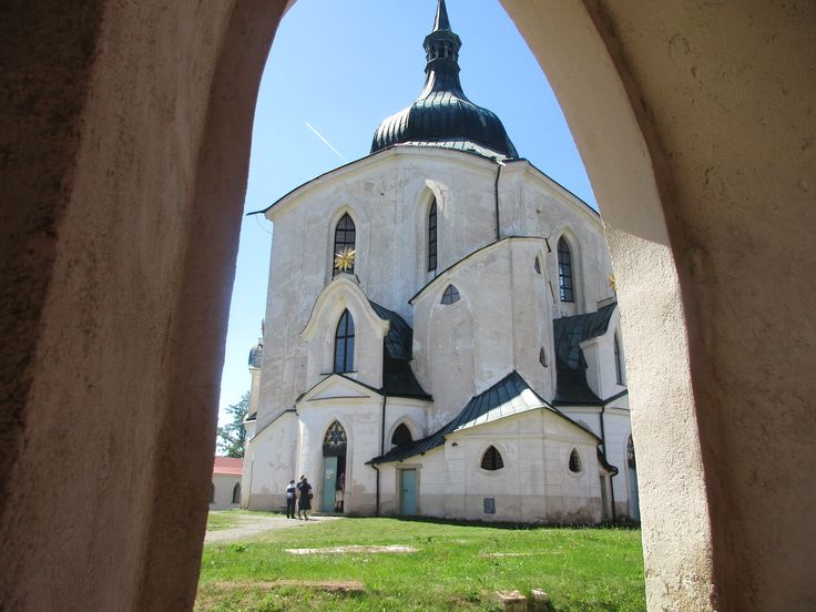 Poutní kostel sv. Jana Nepomuckého - Žďár nad Sázavou - kraj Vysočina - Česko