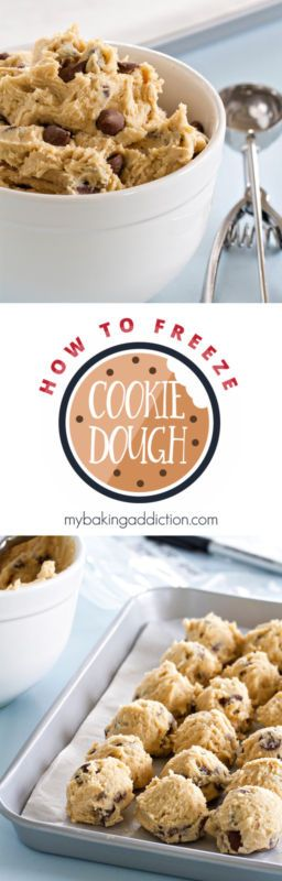 How to Freeze Cookie Dough: You can do it yourself, with pretty much any drop cookie recipe that you love.