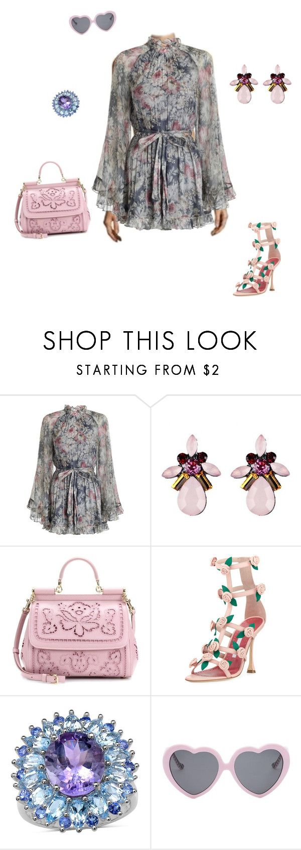 """""""Festival 2017"""" by littlerosebunny ❤ liked on Polyvore featuring Timo Weiland, Zimmermann, Dolce&Gabbana, Manolo Blahnik, Vans, Summer, festival, jumpsuit, fahsion and 2017"""