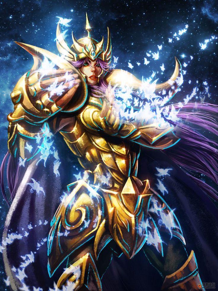 Cavaleiro de Ouro - Mu de Aries by SONICX2011 on DeviantArt