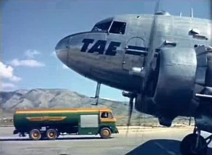 TAE Greek National Airlines Douglas C-47A-1DL Skytrain (DC-3)