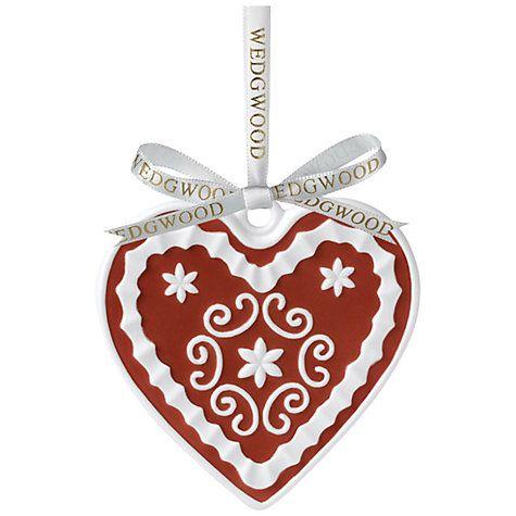 Buy Wedgwood Heart Decoration Online at johnlewis.com