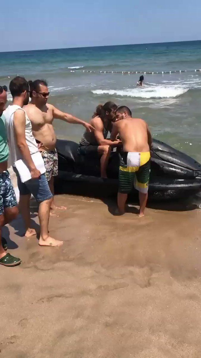 Yaman S Filming Break He Is Jet Skiing Family Moments Beach Fun Flashforward