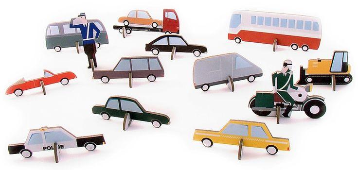 automobili da costruire #giocattoliintelligenti. #StudioROOF kit to make your cars. http://zigzagmom.com/giochi-per-le-vacanze-ingombro-zero-promozione/