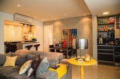 Salas de estar e de jantar integradas: 20 fotos para inspirar você na decoração   – decor