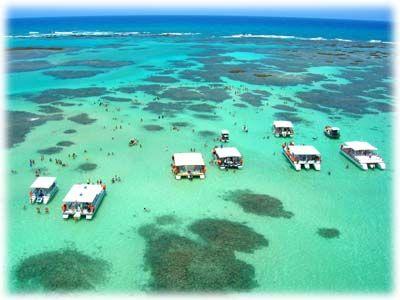 Porto de Galinhas is a beach in the municipality of Ipojuca, Pernambuco, Brazil