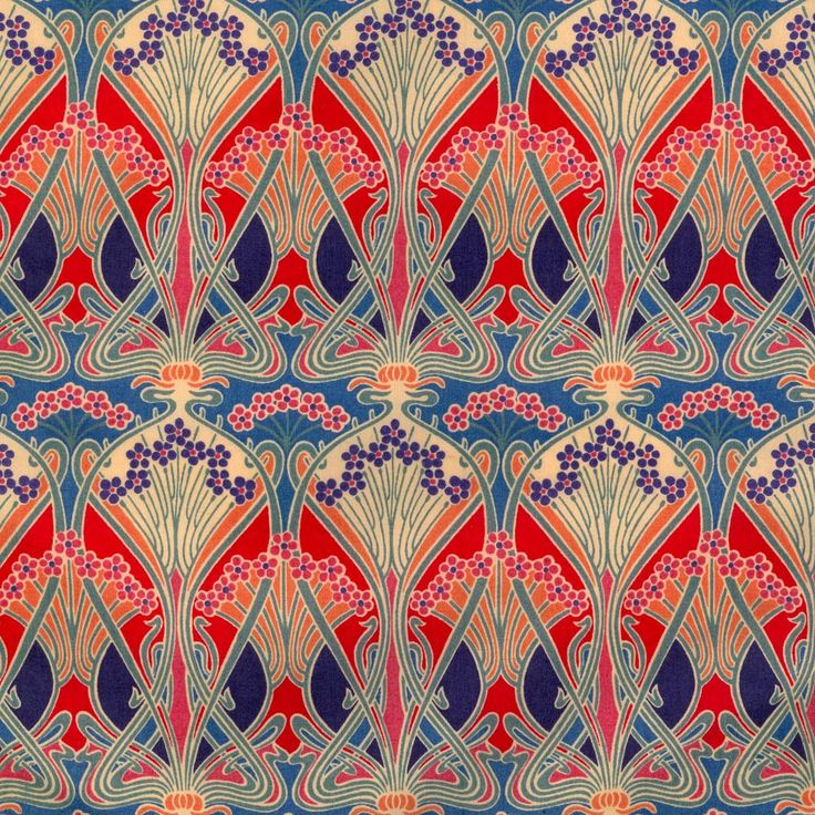 Liberty fabric: Ianthe Art Nouveau.