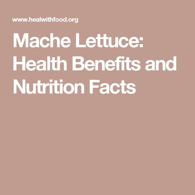 Mache Lettuce: Health Benefits and Nutrition Facts