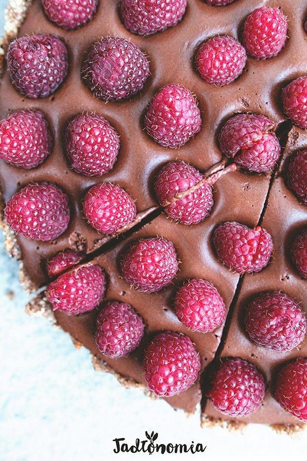Wegańska tarta czekoladowa idealna » Jadłonomia