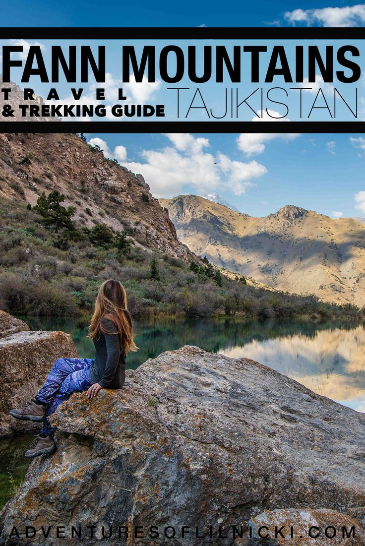 Come find out why the Fann Mountains in Tajikistan are a must visit in Central Asia, and while your add it read on to start planning your trip here!