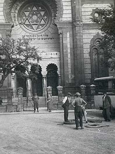 Ukraine Travel Inspiration - Uzhgorod Synagogue. Today this building is an opera house. The community if Uzhgorod, today in modern day Ukraine, was liquidated during the Holocaust.