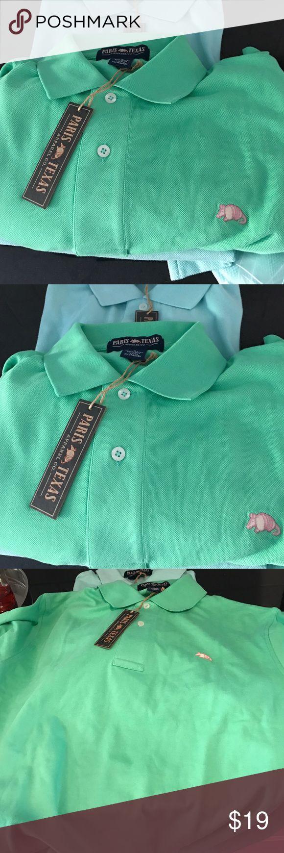 Paris Texas shirt brand new men's shirt Green size medium. New with tags! Men's shirt! paris texas Tops