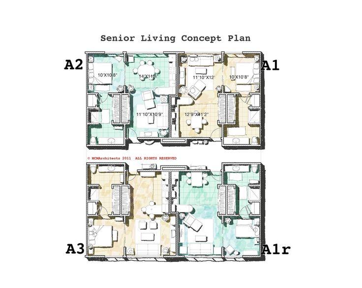 Senior Independent Living Floor Plans