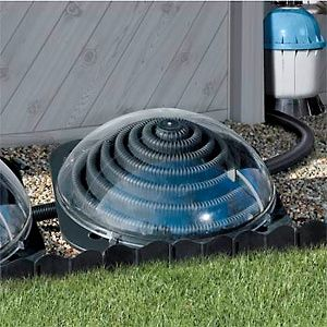 I am going to try a solar heater for the hot tub this summer. use this for a yard pool???