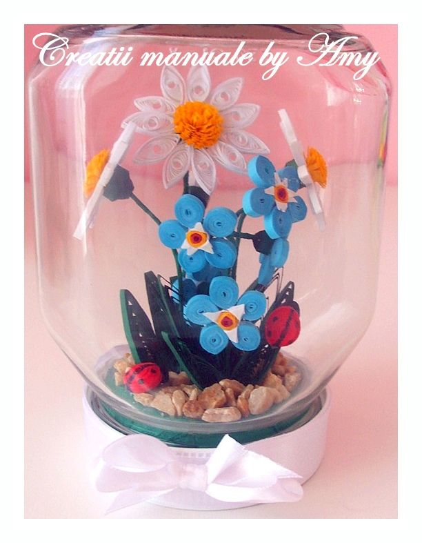 Deco quilling in jar quilling projects pinterest for Deco quilling