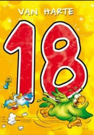 18 jaar.