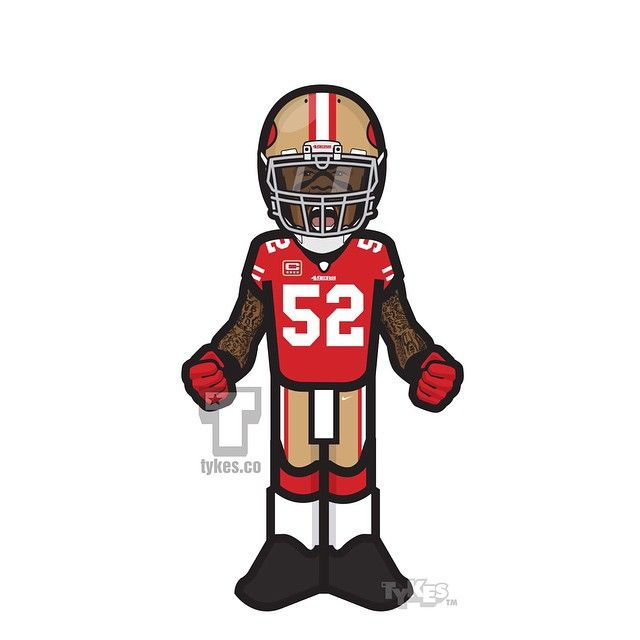 Patrick Willis San Francisco 49ers Tyke. After eight seasons, seven Pro Bowl selections and five Associated Press first-team All-Pro honors, 49ers linebacker Patrick Willis has retired. He finished his career with 950 tackles, 20.5 sacks, 16 forced fumbles, five fumble recoveries and eight interceptions. He was one of the most productive and feared defenders of his generation.  #PatrickWillis #49ers #NFL #football #tyke #tykes #MyTyke www.tykes.co