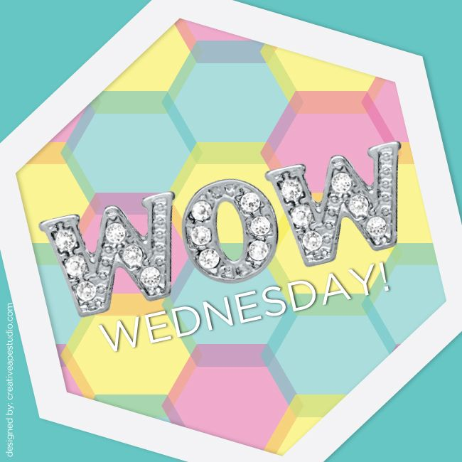 WoW Wednesday - Origami Owl® Social Media Graphic