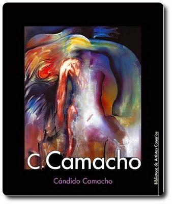 C. Camacho : Cándido Camacho / Carlos Pinto Trujillo. -- [Canarias] : Consejería de Educación, Universidades, Cultura y Deportes, Gobierno de Canarias, 2010 -- (Biblioteca de artistas canarios ; 49).   ISBN 978-84-7947-604-5. http://absysnet.bbtk.ull.es/cgi-bin/abnetopac01?TITN=461323