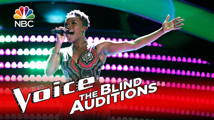 "The Voice 2016 Blind Audition - Simone Gundy: ""I (Who Have Nothing)"""