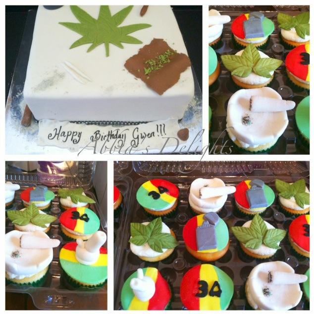 Marijuana Inspired Cakes