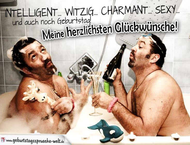 Witzige Geburtstagskarte für Männer - Sehr lustig