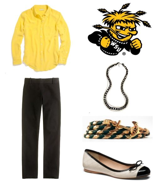 How to Dress for   Wichita State Basketball Game
