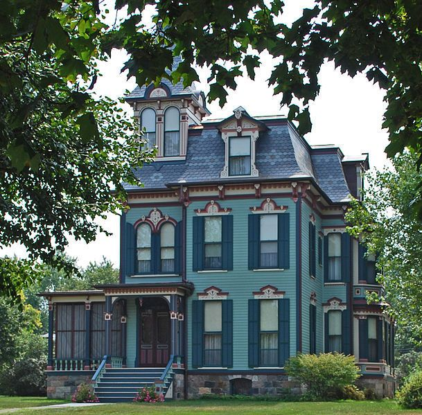 Design Your Own Victorian Home: 508 Best Second Empire Victorian Homes Images On Pinterest