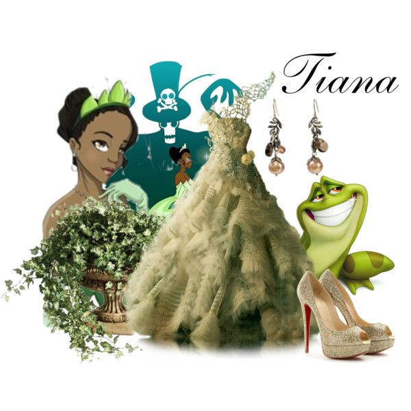 """""""Princess and the Frog"""" by aninhacp on Polyvore"""