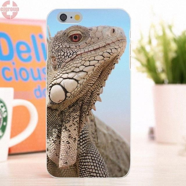 Apple iPhone 6 6S 4.7 inch / Samsung Galaxy - Bearded Dragons - Reptile Lovers Soft TPU Silicon Cool Best