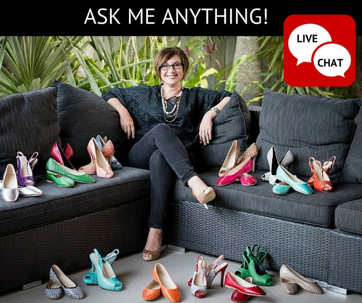 HAVE A QUESTION? PLEASE ASK! We are pleased to introduce a nifty new tool on our website that allows you to chat directly with Candice, Scarletto's owner and shoe designer. Candice is available to LIVE CHAT with you, so if you have any questions at all about our shoes, their design, delivery times, future collections etc, please go to our website and join the chat at the bottom right hand corner of the screen. Go to http://scarlettos.com.au/  We would LOVE TO HEAR FROM YOU!