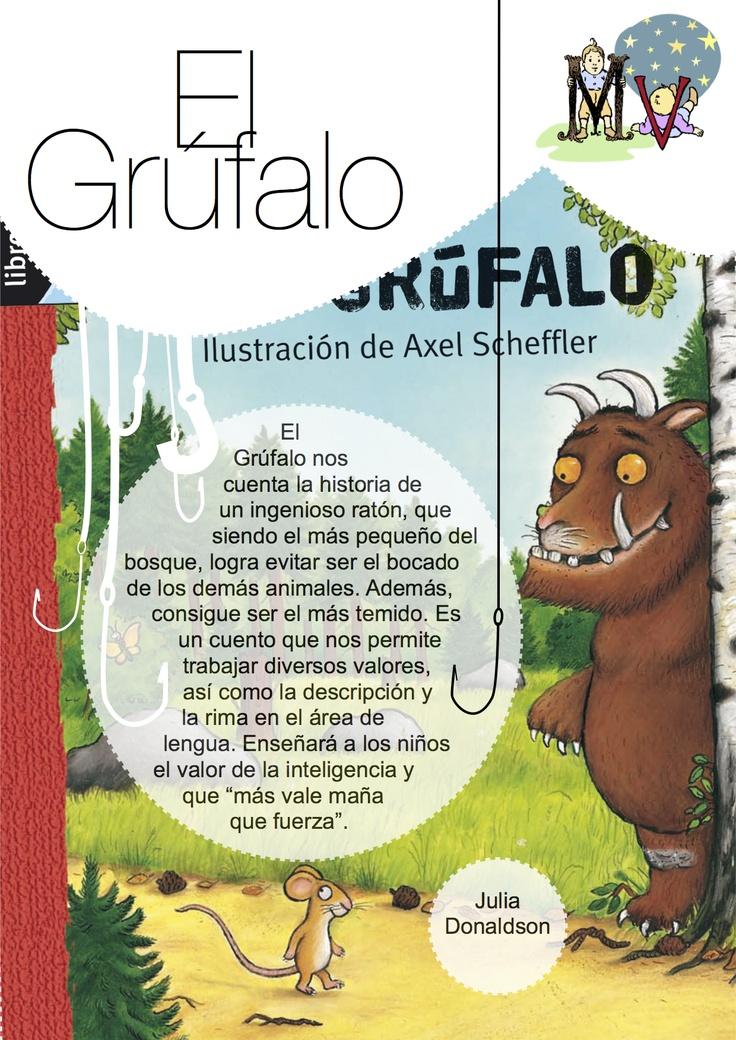 El Grúfalo.  http://elblogdemanuvelasco.blogspot.com.es/