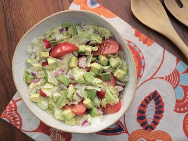 Cubano Salad Recipe   Valerie Bertinelli   Food Network