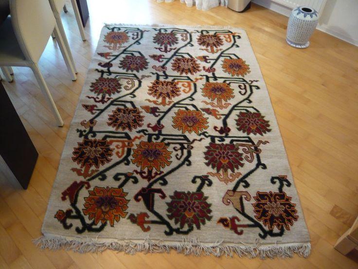 Alter tibetischer Teppich Wolle 190 x 120cm, handgeknüpft schwere Qualität in Antiquitäten & Kunst, Teppiche & Flachgewebe, Asiatische Teppiche | eBay!