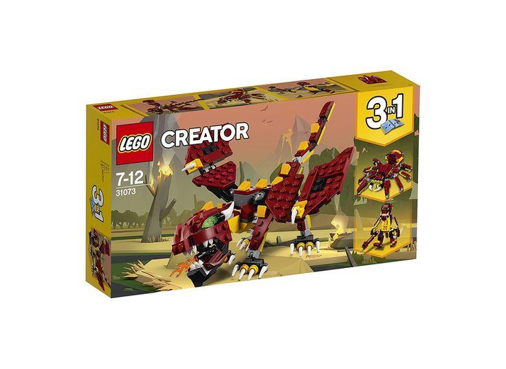 Lego creator 31073 mytiske væsner