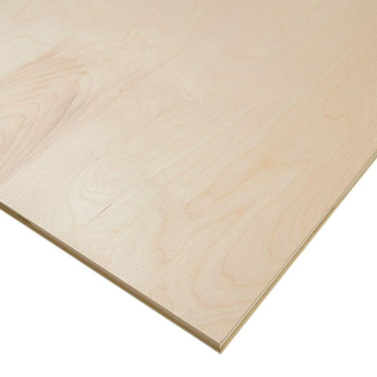 Columbia Forest Products 3/4 in. x 4 ft. x 8 ft. PureBond Birch Plywood Project Panel - 165921 - The Home Depot