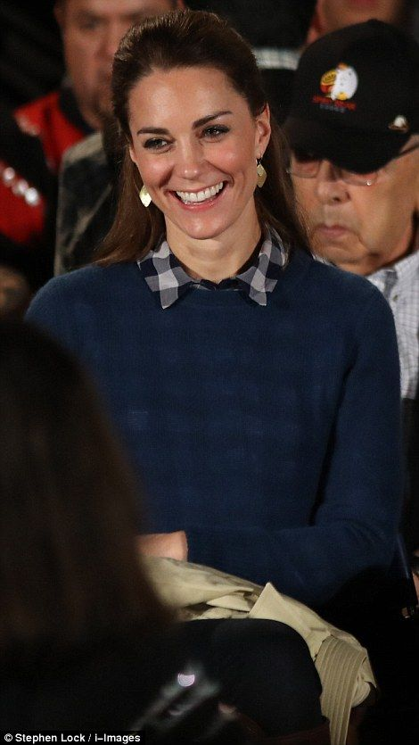 Catherine, Duchess of Cambridge attends an official welcome performance during a visit to first nations Community members on September 25, 2016 in Bella Bella, Canada.