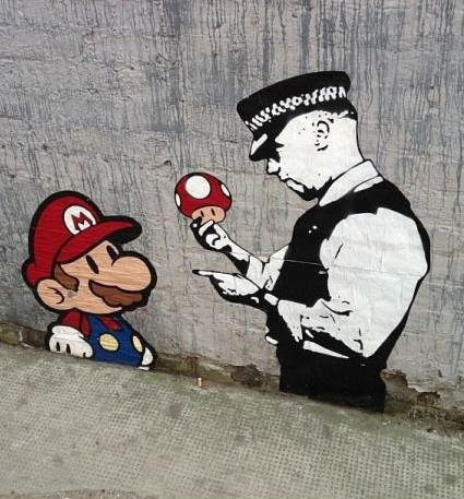 You have the right to remain silent, Mario.