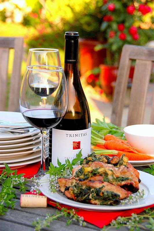 food Wine pairing for asian